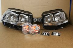 VW T6 Transporter H7 headlight upgrade kit with Osram Nightbreaker Laser bulbs and LED side / DRL