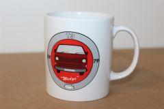 VW Retro T3 Wedge Mug ZGB9011401 115 New Genuine VW Merchandising item