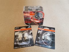VW T5.1 & T6 (H4 Headlight) Osram bulb upgrade kit Nightbreaker Laser & LED