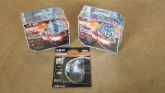 VW Polo 6N2 2000 - 2002 Osram headlight bulb upgrade kit Nightbreaker Laser +150 & LED side