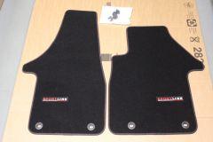 VW T5 / T6 Transporter Genuine Sportline front carpet mats (UK / RHD)