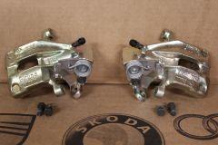 Pair of Genuine VW rear brake calipers Golf MK2 Corrado Jetta MK2 535615423X 535615424X