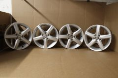 """Set of 4 15"""" VW ASPEN alloy wheels VW Polo 2002 - 2021 New with slight marks / scratches"""