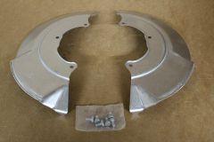 VW Transporter T4 1991 - 2004 front brake disc splash guard kit New genuine VW parts