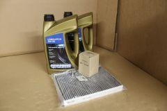 VW Transporter T5.1 2010-2015 intermediate service kit with oil Genuine VW parts
