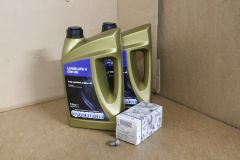 VW Transporter T5 2.5 TDi (early no DPF) basic service kit with engine oil