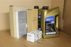 VW Transporter T5 2.5 TDi 130 / 174 (with DPF) full service kit all genuine VW parts