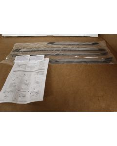 VW Passat B7 2011-15 stainless sill protection strips 3AE071303 New Genuine VW