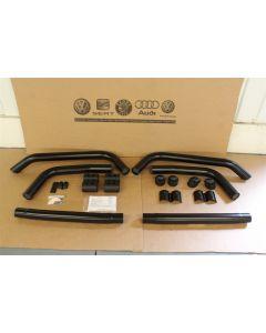 VW Amarok MATT BLACK roll hoop / styling bars 2H0071000E NP1 New Genuine VW part