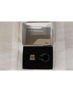 Audi A1 Genuine Merchandise Leather Key Ring 3181400201 New Genuine Audi part