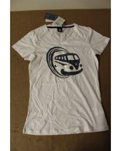 VW Genuine Merchandise Camper Van Ladies Tee Shirt 211084210B060 New