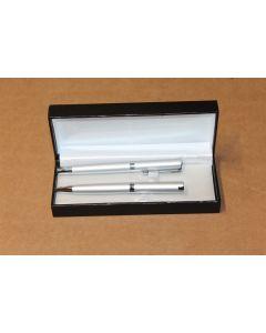 Ball Point & Roller ball Pen Set in Hardback Case ZGB4221411060 New Merchandise