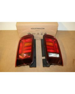 VW Caddy WING DOOR UK RHD ONLY TINTED 2016 rear light upgrade kit.New genuine VW