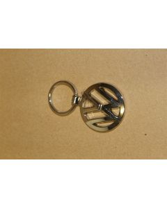 VW Logo Chrome Keyring - Birthday / Christmas Present Genuine VW accessory