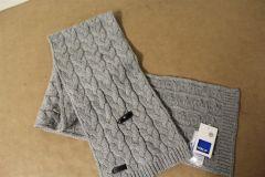 VW Golf Logo Winter Scarf part Lambswool 5G0084330B528 New genuine Merchandise