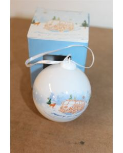 VW Type 1 Camper Porcelain Christmas Tree Bauble 000087790G 084 New
