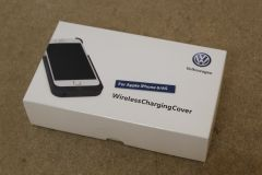 VW Branded iPhone 6 / 6s inductive wireless charging case New genuine VW accessory