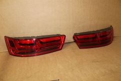 Pair of Led Taillights Blackline for Q7 2016 onwards 4M0052100 New Genuine Audi
