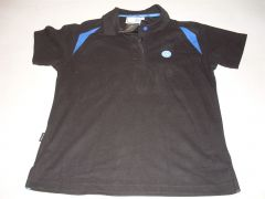 VW merchandise black / blue t shirt size 14 New genuine VW part