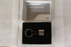 Audi A5 Genuine Merchandise Leather Key Ring 3181400205 New Genuine Audi part