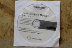 A2058271001 Owners manual New genuine Mercedes-Benz accessory