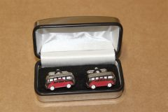 Retro Camper & Beetle Red Cuff Links ZGB9021411040 New