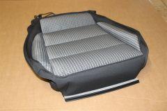 VW Eos front seat base heated cloth cover trim 1Q0881405CG UFA New Genuine VW