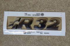 VW Golf MK4 R32 rear badge 1J0853675Q739 / 1J0853675Q New genuine VW reproduction part