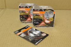 VW Scirocco 2009-2014 Osram headlight bulb kit upgrade with NightBreaker Laser and LED side