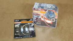 VW Transporter T5 2003 - 2010 (H4 headlights) Osram Nightbreaker Laser + LED bulb upgrade kit