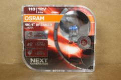 Osram NIGHT BREAKER LASER +150 H3 12v twin pack 64151NL-HCB