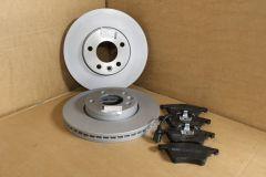 Front brake pads and discs kit 308mm VW Transporter T5 5.1 6 6.1 Genuine VW