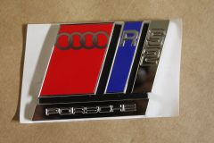 Audi RS2 rear adhesive badge 8A0853735A 2ZZ New genuine Audi part