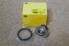 Coolant thermostat early 2.3 V5 engines Golf Passat Leon Toledo (equiv 044121113) Genuine Hella