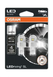Osram LED reverse light bulbs for VW Transporter T6 with factory fitted LED rear lights