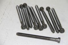 Set of 10 cylinder head bolts TDi 1.6 / 2.0 VW Audi Skoda Seat WHT002131A Genuine