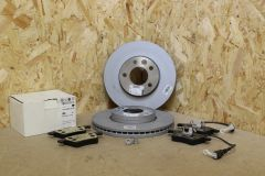VW Touareg 2.5 TDi only front brake kit with 308mm discs and pads New genuine VW parts
