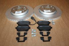 VW T5 T5.1 T6 T6.1 rear 294mm brake discs & pads kit New genuine VW parts
