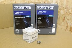VW Transporter 180 BiTDi T5.1 / T6 engine oil change kit with genuine VW oil and parts